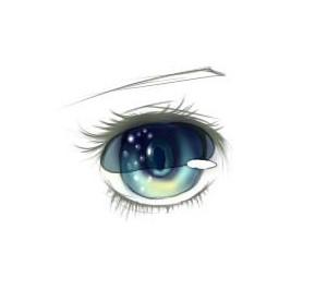 那些年,让我们为之震撼的图第3弹--新涂鸦工具诞生篇   水彩风眼睛