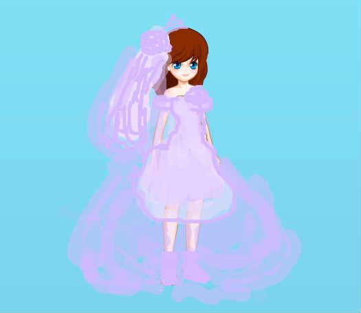 紫霞卡通手绘头像