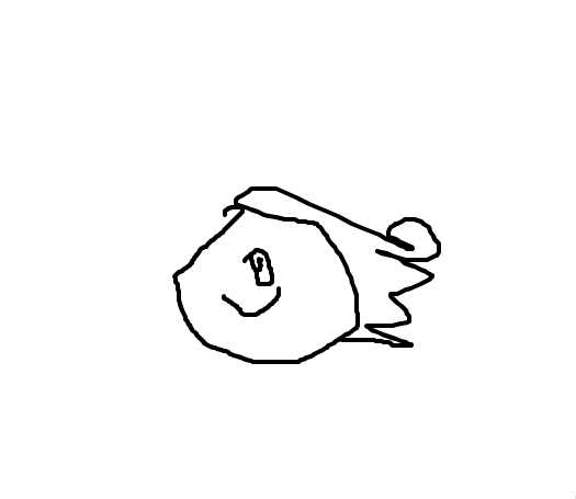 小男孩画画简笔画图片大全可爱