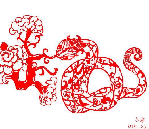 论蛇的正确画法
