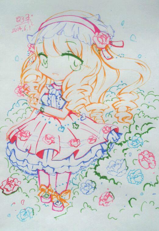 蔷薇公主 蔷薇公主的kiss 守护甜心之蔷薇公主图片