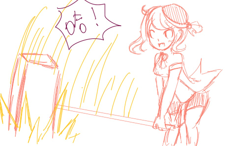 动漫 简笔画 卡通 漫画 手绘 头像 线稿 498_297