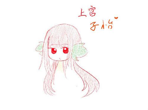 菠萝拟人简笔画