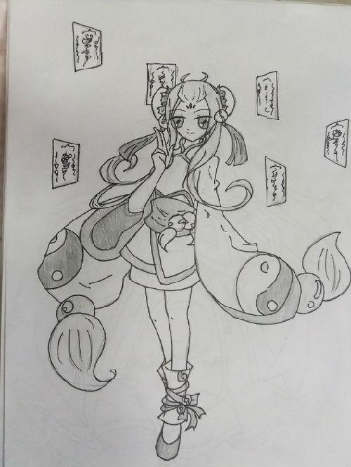 【我是小小编】奥雅手绘—阴阳师梦璃