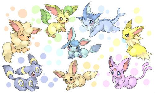 大家认为宠物小精灵里谁最可爱?