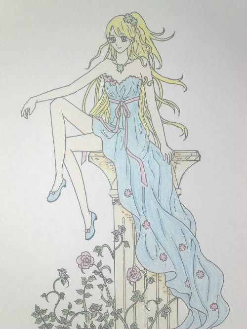 服饰设计手绘图