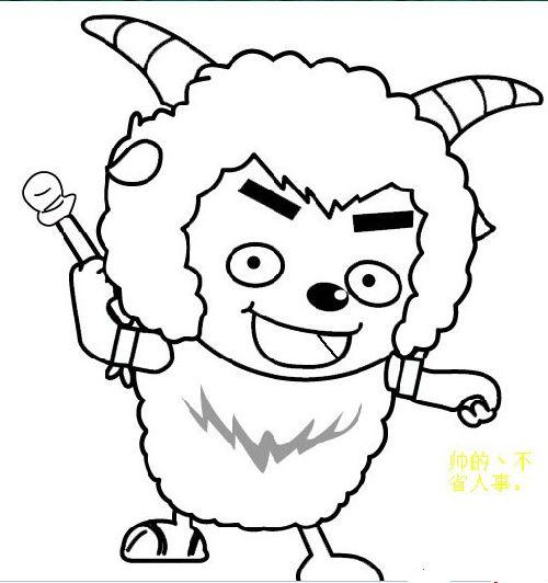 动漫 简笔画 卡通 漫画 手绘 头像 线稿 500_532