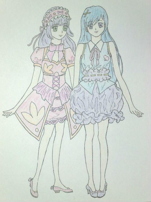 服饰设计手绘图(正