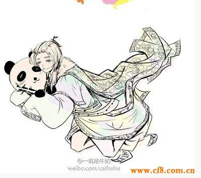转)中国地图拟人化 卡通人物萌翻你
