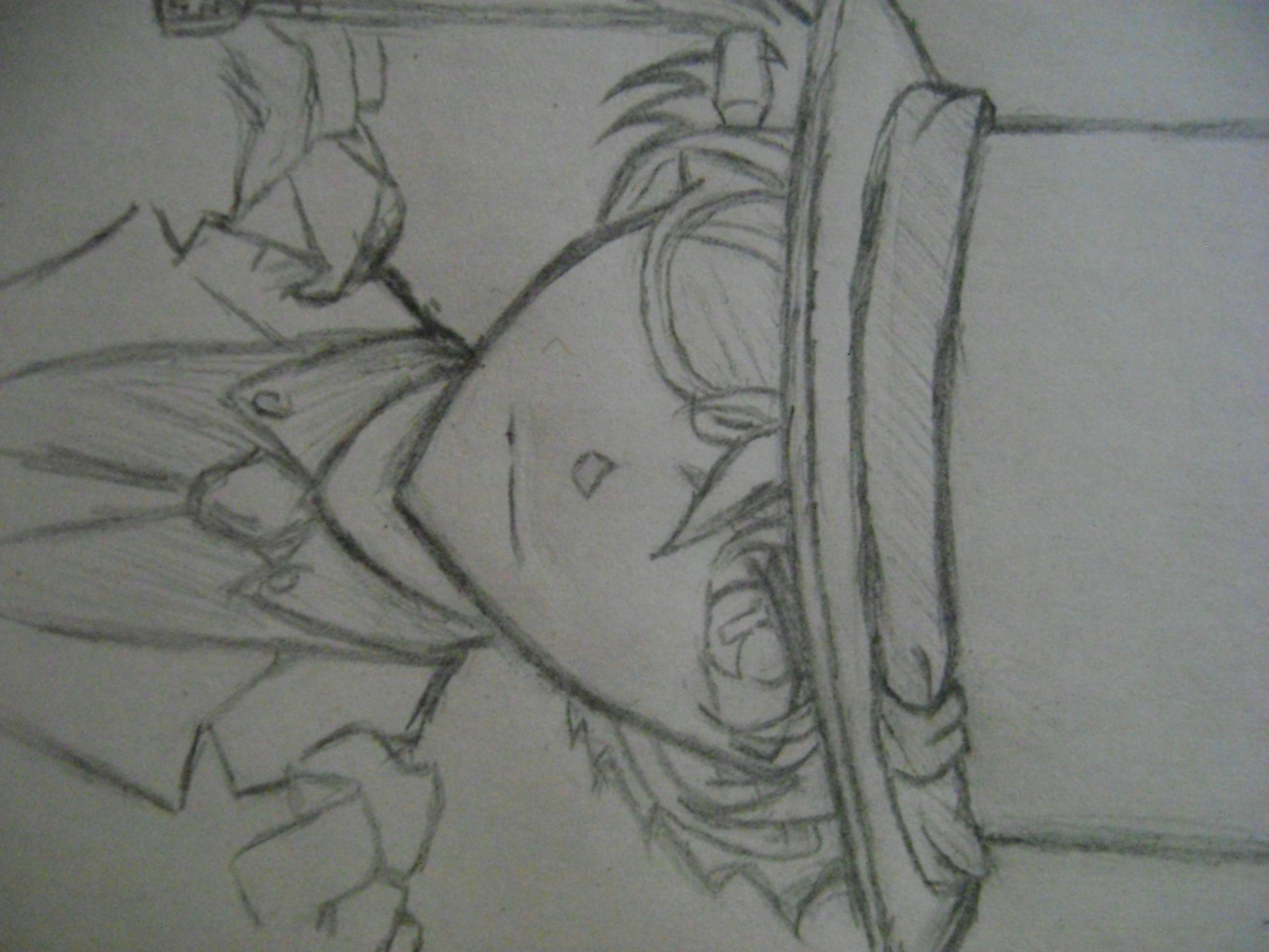 我自己画的基德