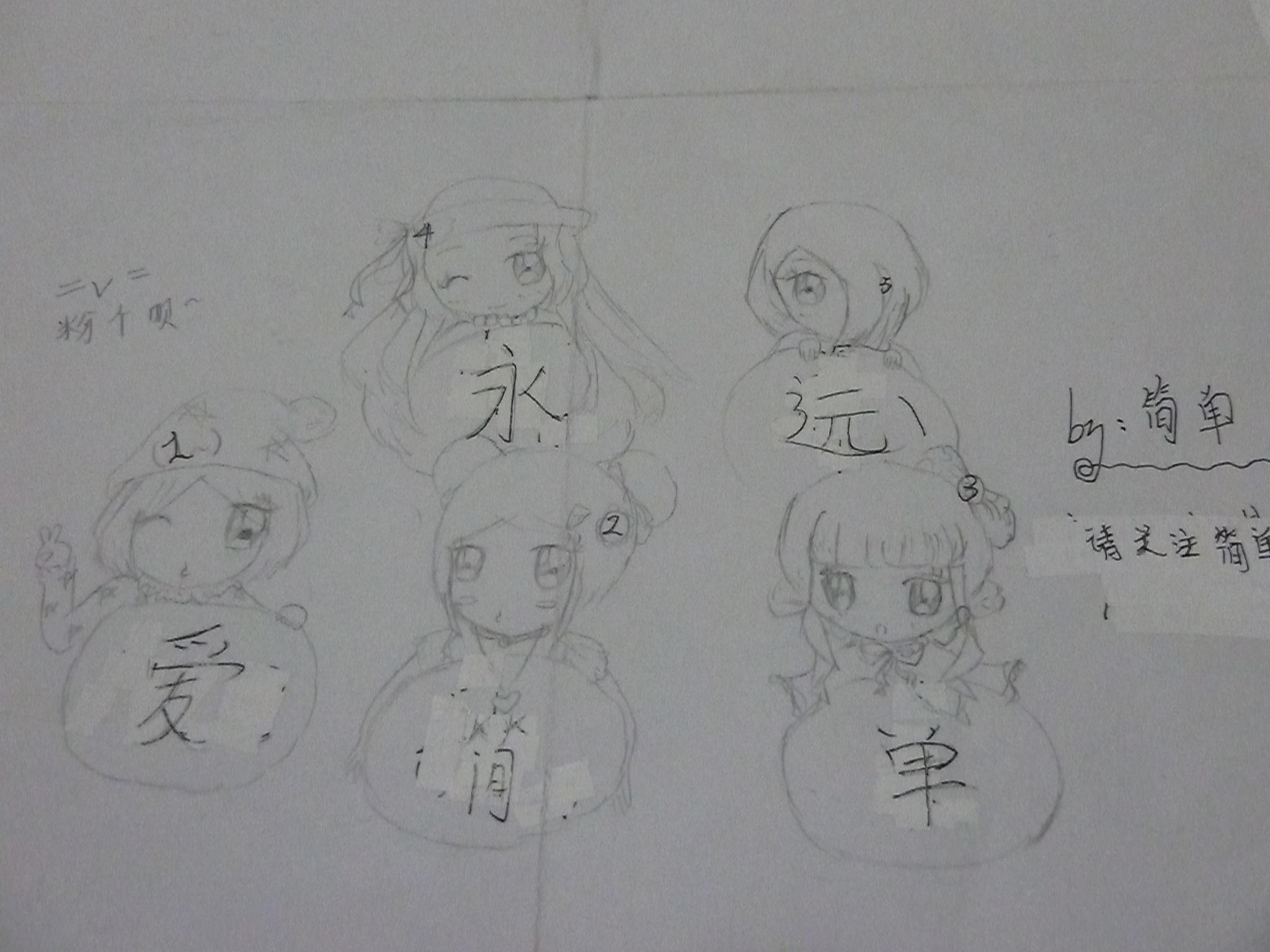 【简单】动漫手绘