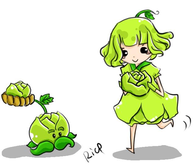 【莓莓】植物大战僵尸拟人