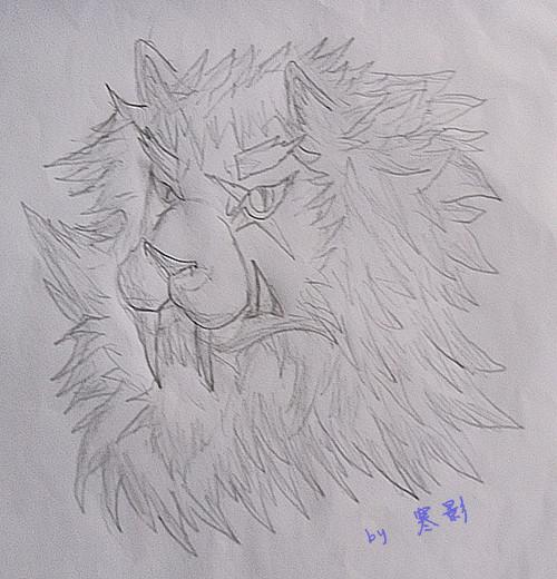 【寒影】手绘狮子