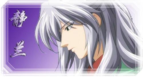 【转】动漫中银色头发的帅哥,美女们
