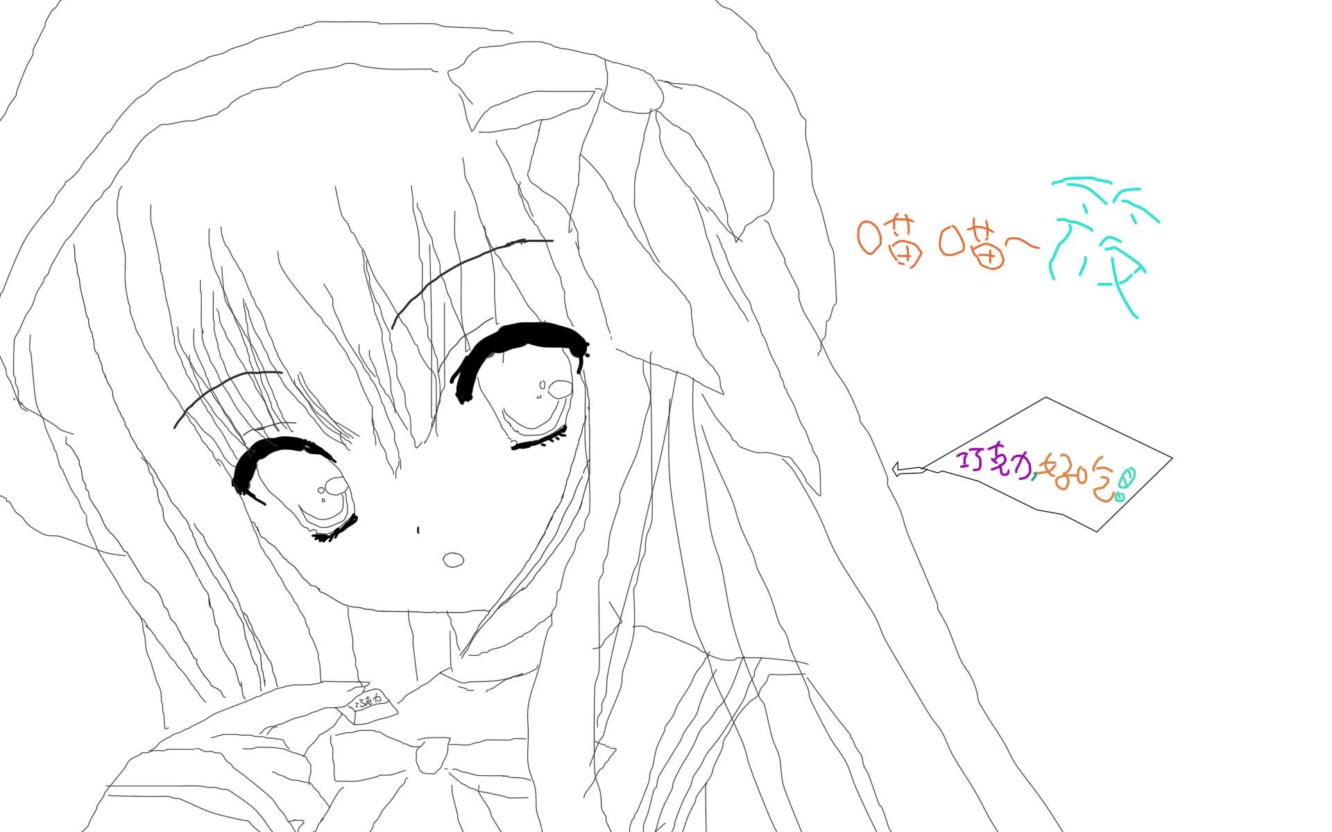 【鼠绘】动漫美少女