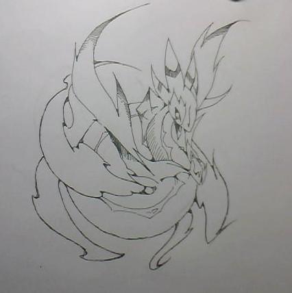 奥拉星奇灵手绘