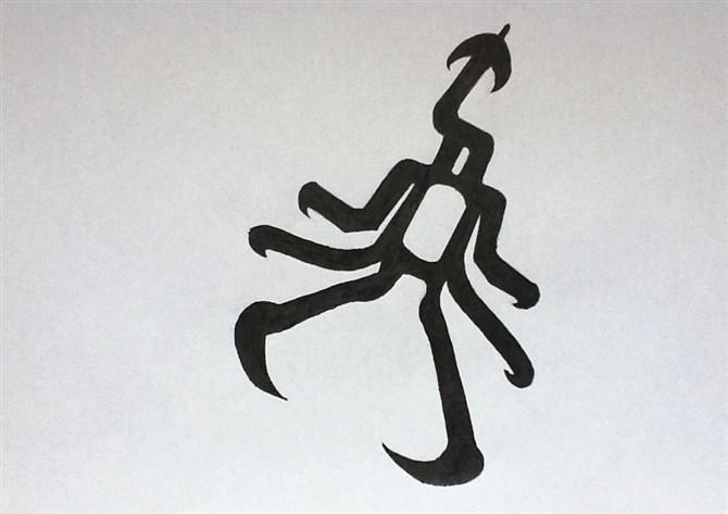 【微笑】手绘exo标志,爱exo的进