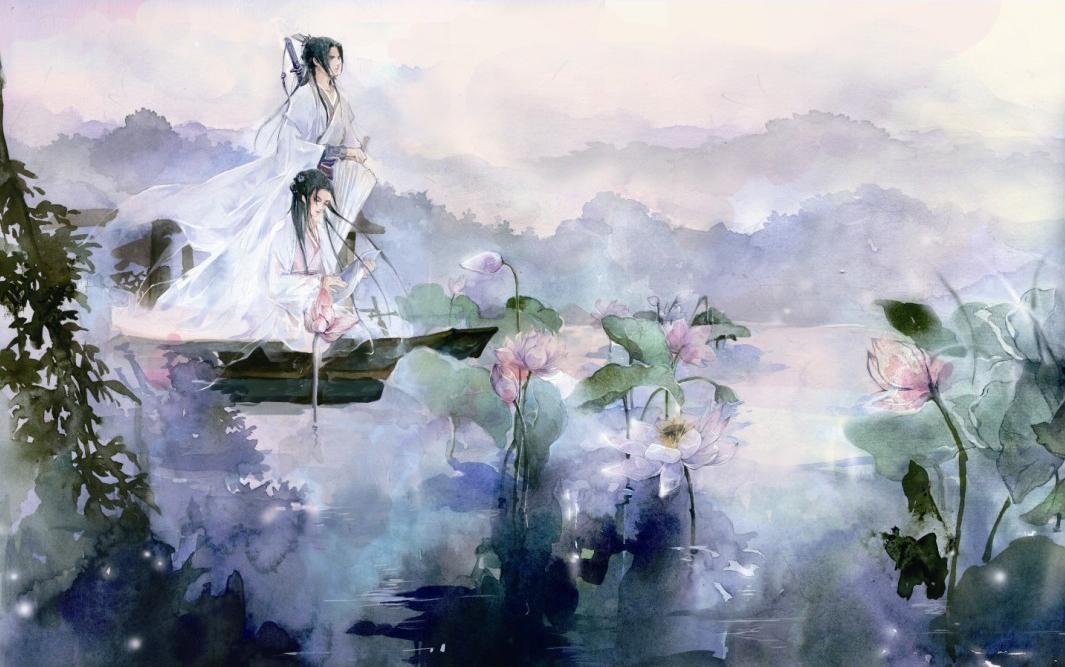 曾经沧海难为水 ,除却巫山不是云