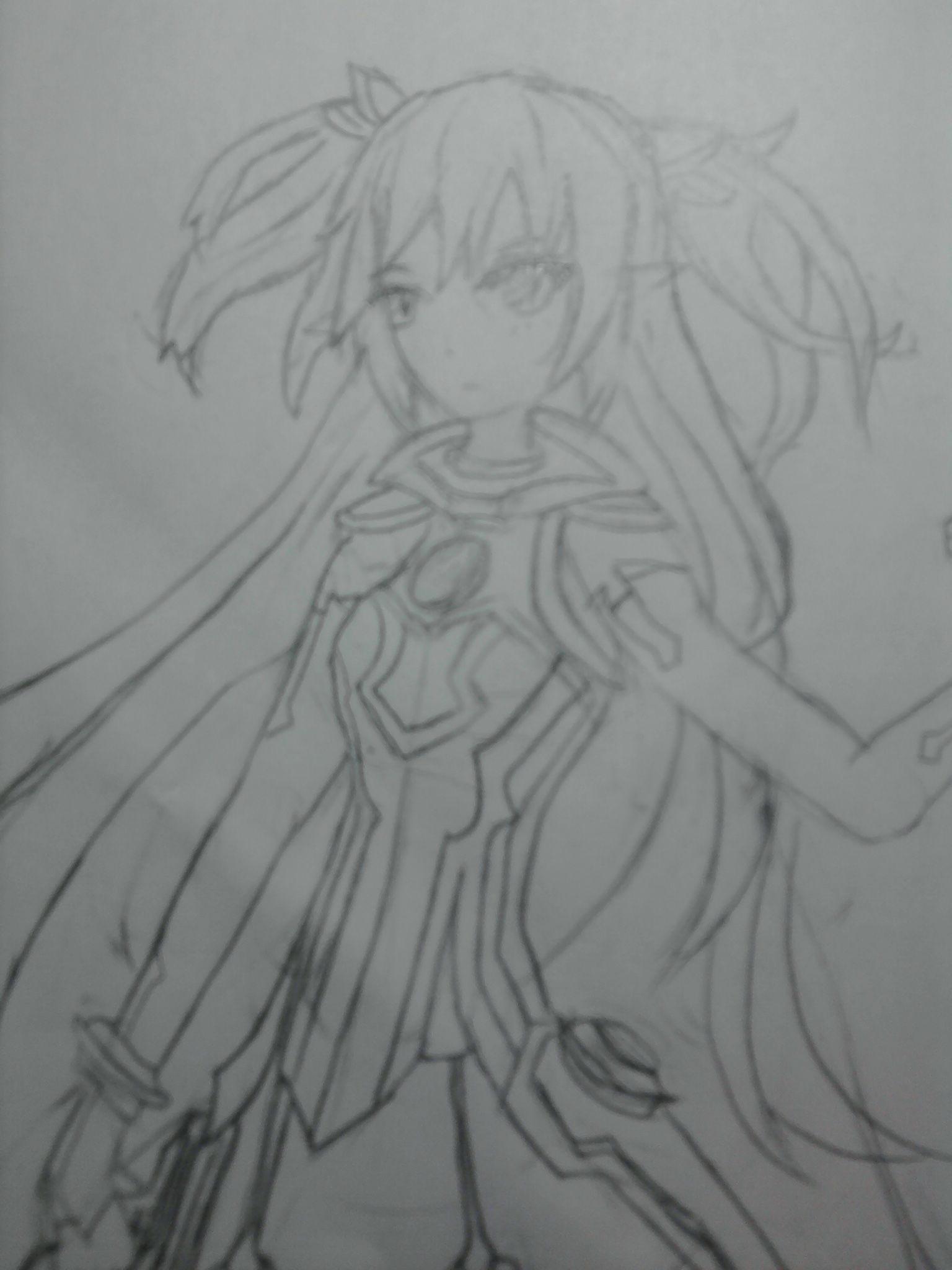 梨花画法铅笔画