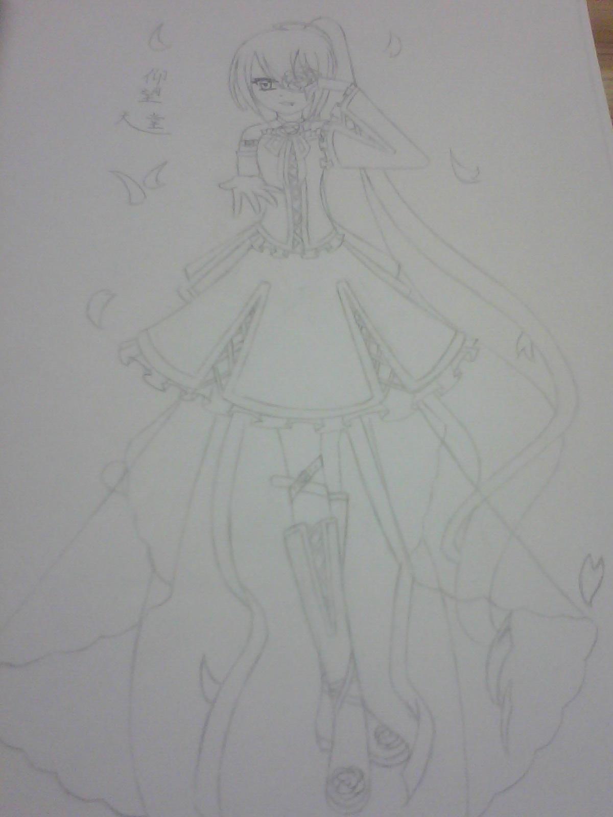 【天堂】手绘图_动漫圈