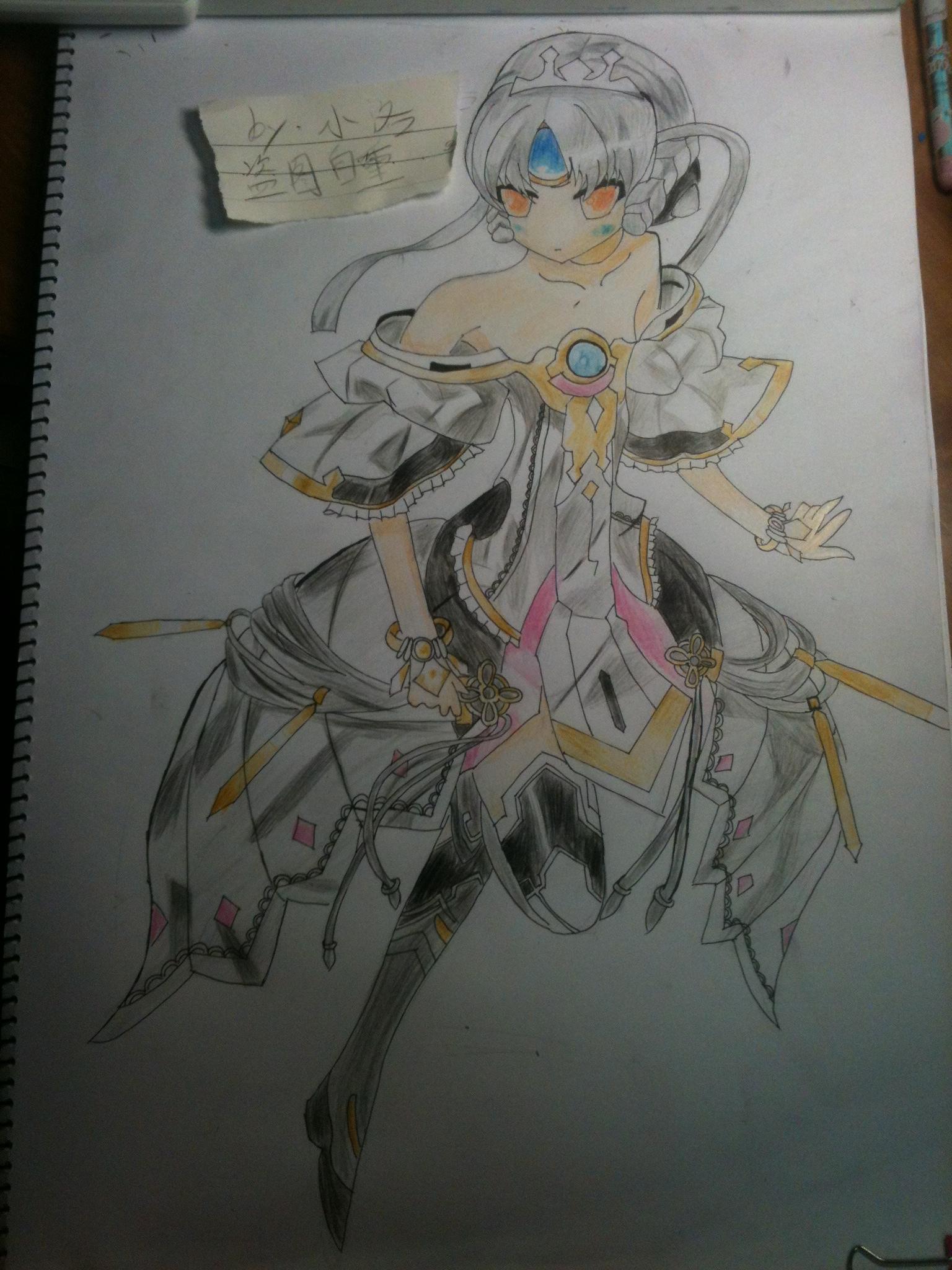 【洛酱】彩铅手绘.