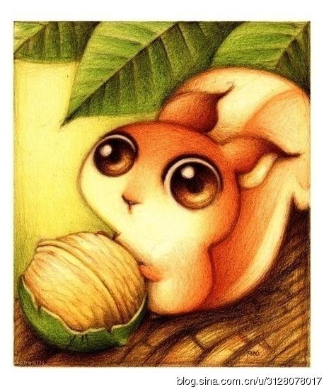 【滢】画上的无比可爱小动物