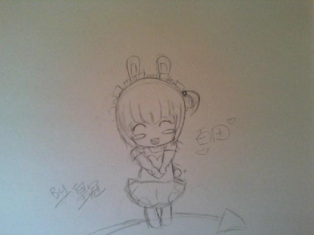 画兔子的步骤图素描