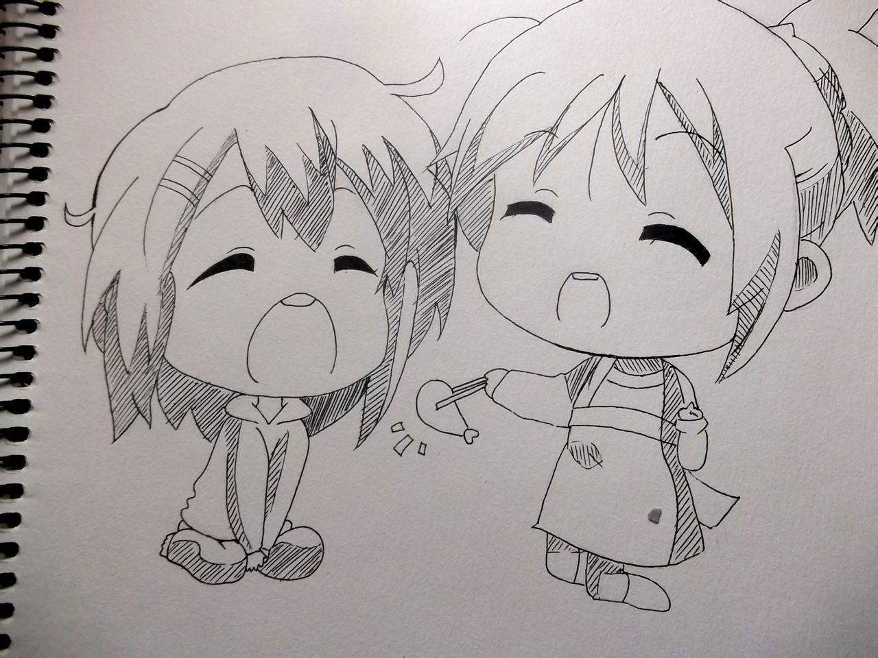可爱q版小东西韩版简笔画