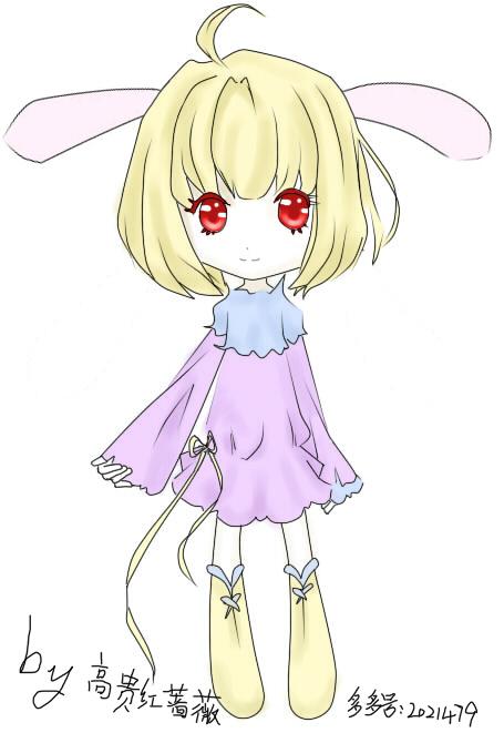 拟人化兔子简笔画,兔子简笔画大全,简笔画小兔子(第2页)_点力图库