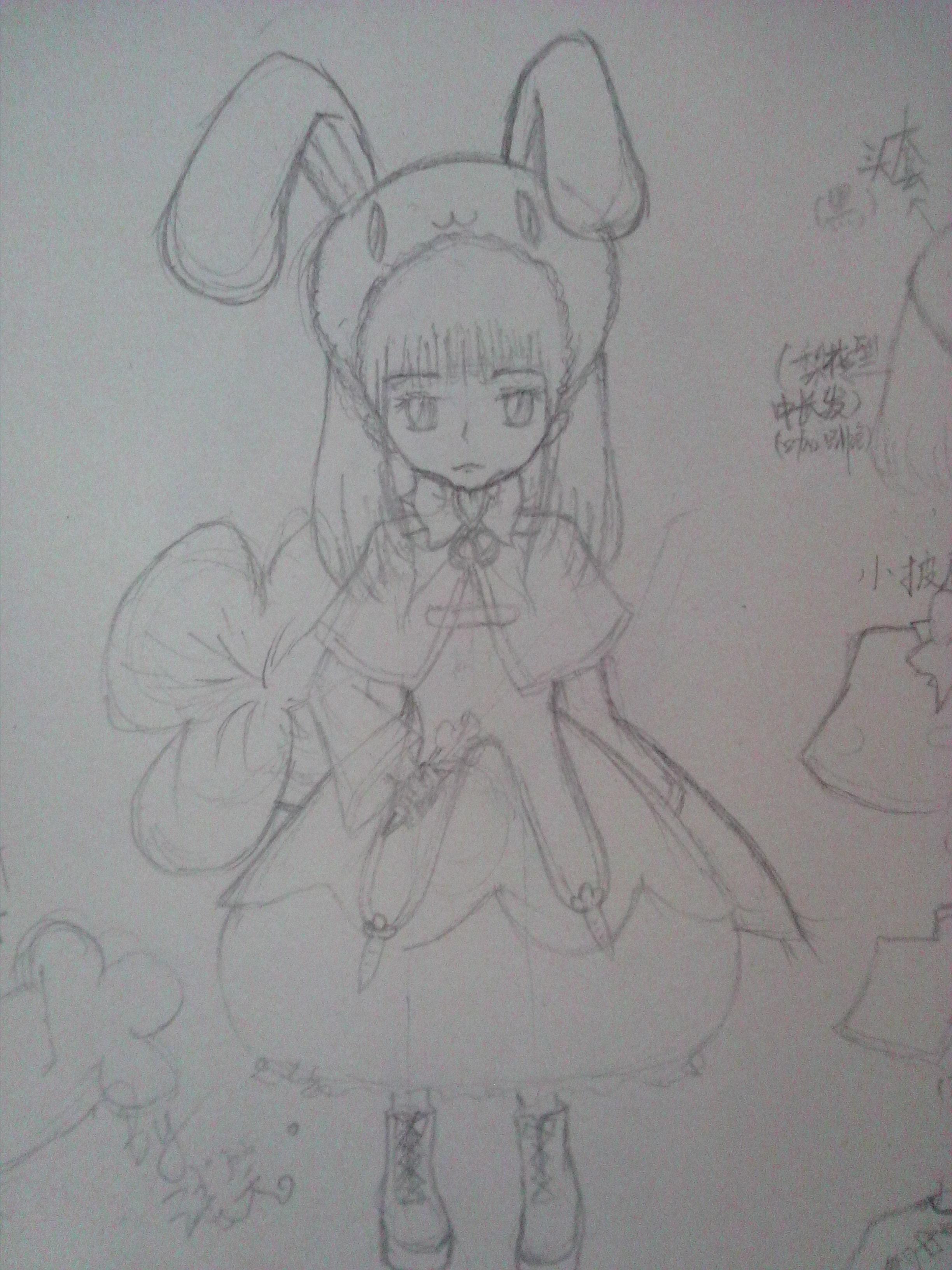投稿:百田卡通小兔子拟人化-卡通拟人小兔子