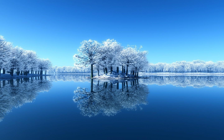 高清风景图片大全蓝色