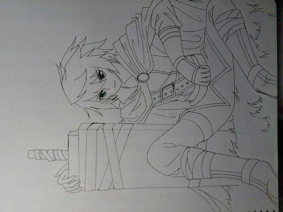斗罗大陆漫画铅笔手绘