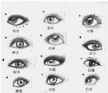 十二星座眼睛