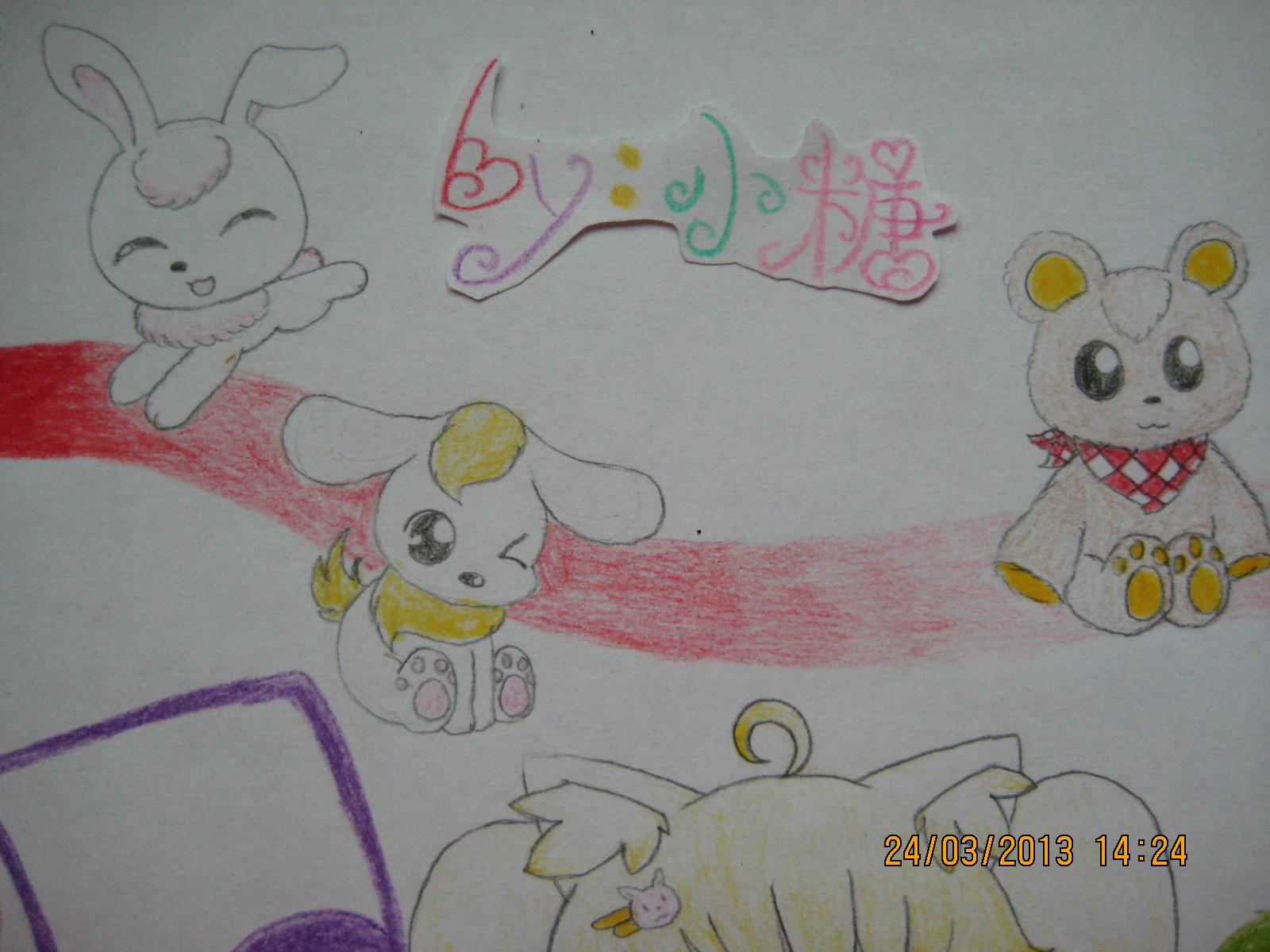 幼儿友谊主题画画