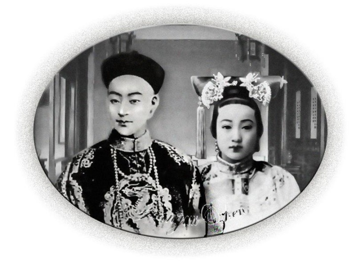 【真相】清朝后宫妃子真实画像