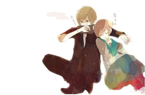 小说动漫情侣图(3)