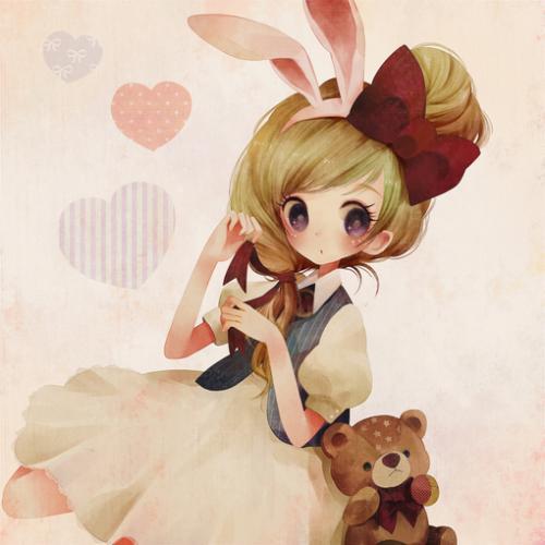 萌兔兔 萌小熊