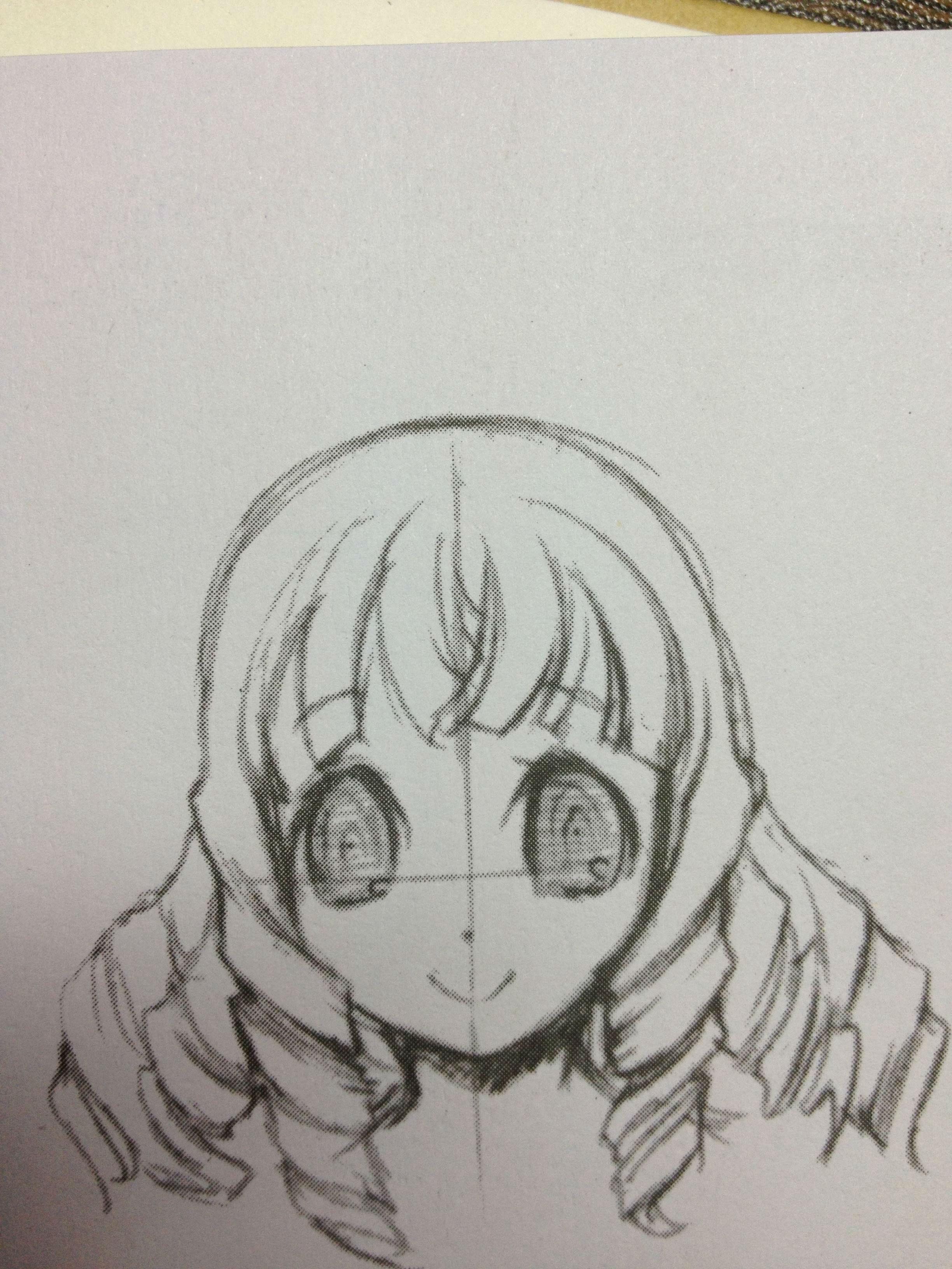 【彩蝶】教你怎样画萌系美少女~~喜欢画画的孩纸(戳进来~~)