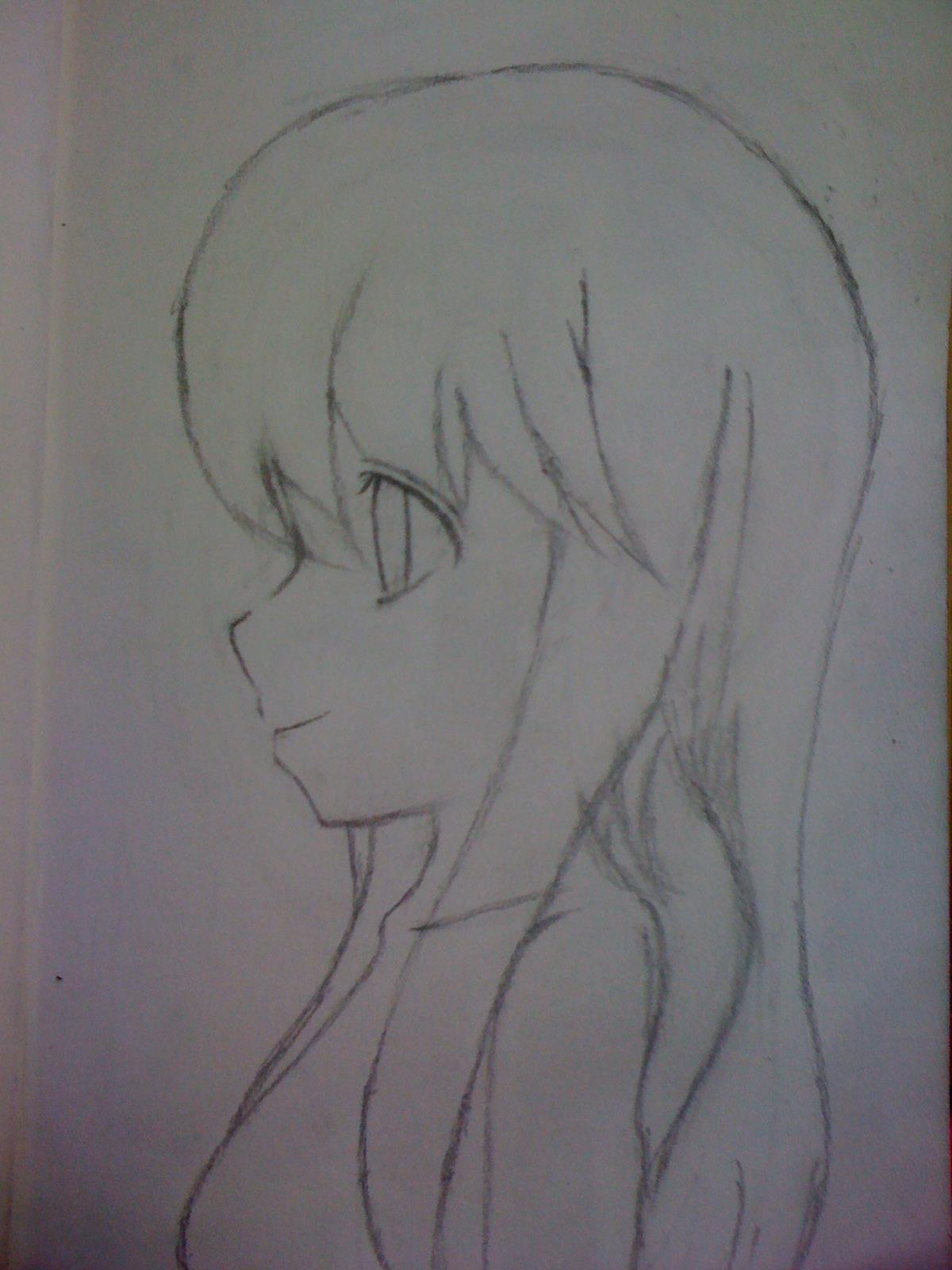 活泼少女头发铅笔画_活泼少女头发铅笔画分享展示