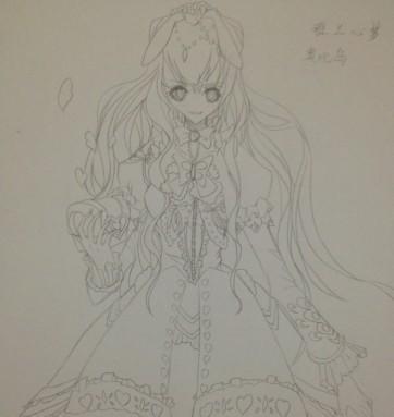 【莓酱】画画喽.喵