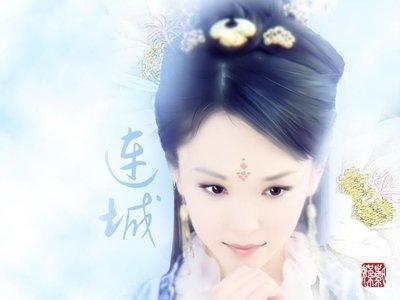 清宫嫔妃美女手绘图