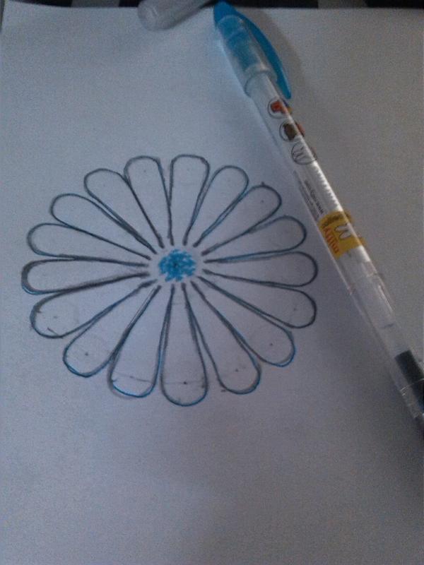 【凉亖】教你用圆规画出花朵