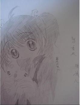 动漫铅笔画; 素描简单动漫人物画; 有素描的 动漫萌图吗