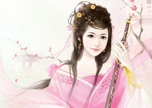 后宫嫔妃手绘丹青图