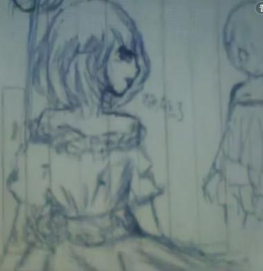 【薄荷】圆珠笔手绘