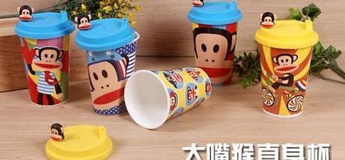 纸杯子手工制作熊猫