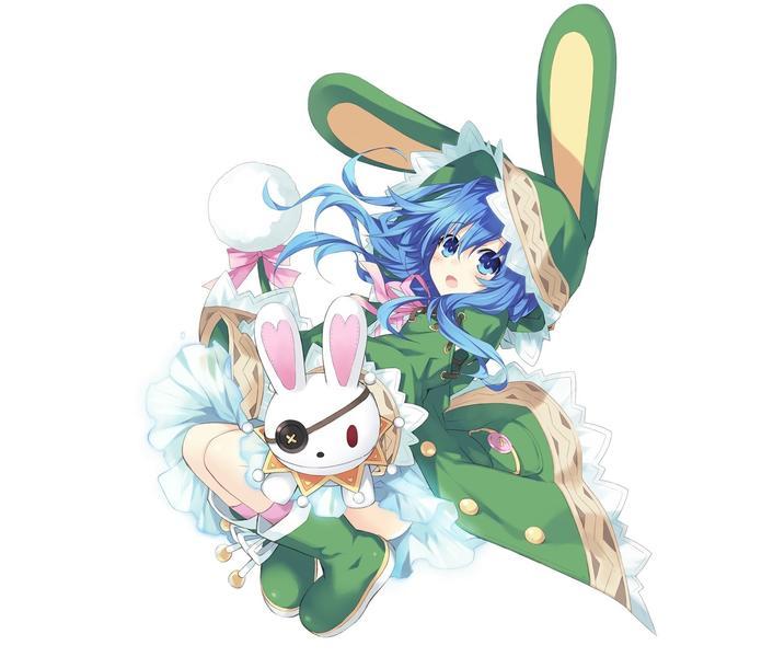梦幻兔子风景图片
