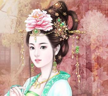 古代公主图像 后宫 高清图片