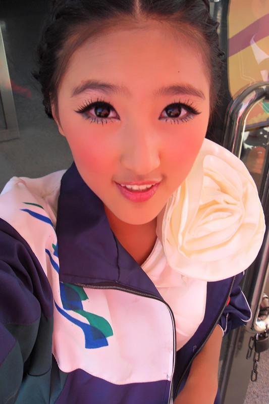赵奕欢眼妆画法图解