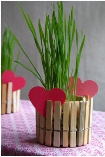 幼儿园废物利用手工制作花盆